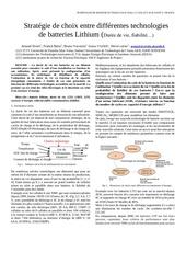Fichier PDF strategy lithium batteries lifetime reliability