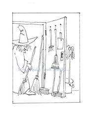 la sorciere du placard a balais
