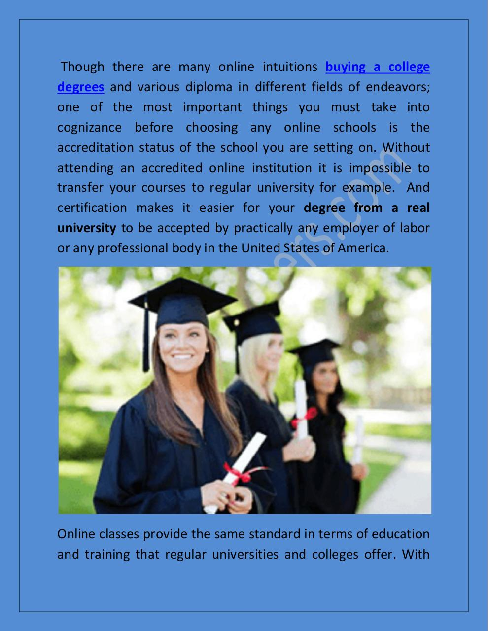 Some Important Things Should Know about the Online Degree and Diploma.pdf - page 2/7
