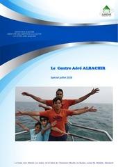 le  centre aere albachir  juillet 2018 brochure