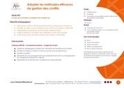 ak   adopter les methodes efficaces de gestion des conflits 1