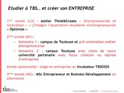 presentation parcours entrepreneuriat