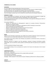 Fichier PDF profil de poste a1