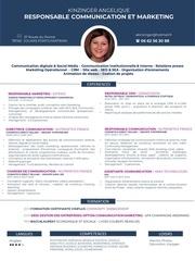 cv communication et marketing 20187