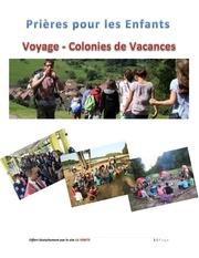 prieres enfants voyage colonies vacances