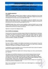 Fichier PDF reglement jeu carrefour coupe de monde