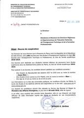bourse de cooperation maroc juil  2018