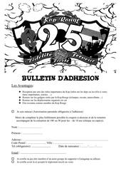 bulletin dadhesion 2018 19