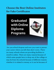 Fichier PDF best online institutes for fake certificates