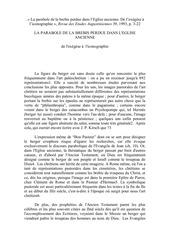 Fichier PDF la parabole de la brebis perdue dans leglise ancienne