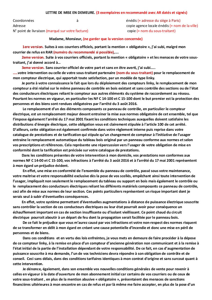 mise en demeure 3 par henri cohen - Fichier PDF