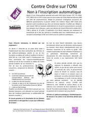 tract ordre