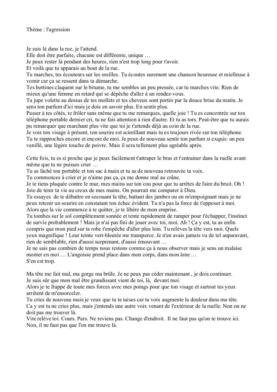 Aperçu du document Alice CHANAL Agression.pdf - page 1/1