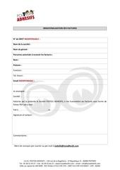 courrier client demat
