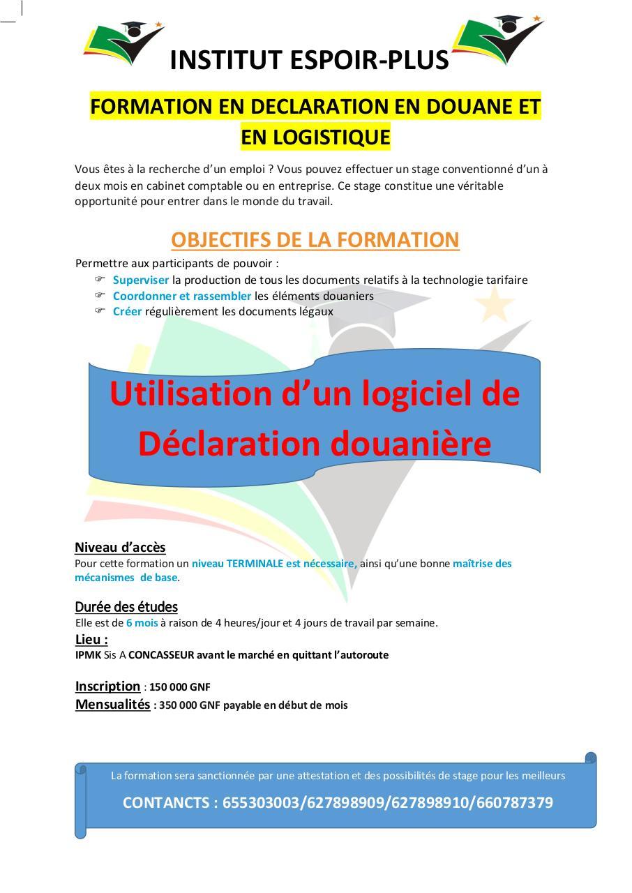 formation logistique pdf