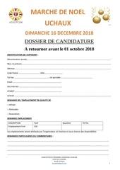 marche de noel uchaux  2018