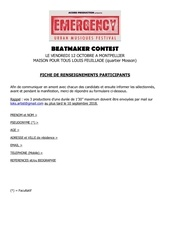 formulaire dinscription beatmaker contest montpellier 2018