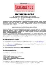 programme beatmaker contest montpellier 2018