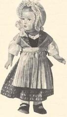 1953 08 costume de marseillaise poupee