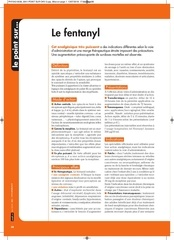 phy542 point sur fentanyl mai2018