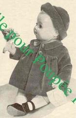 1958 12 manteau chapeau pour michel