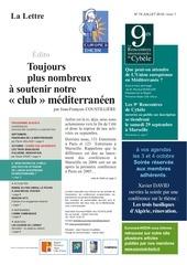 18 07 19   lettre euromed ihedn   ete 2018