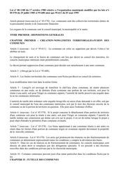 loi mairie 1