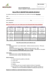 Fichier PDF bulletin inscription 2018 2019