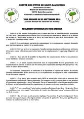 Fichier PDF reglement et inscription  vg 23092018