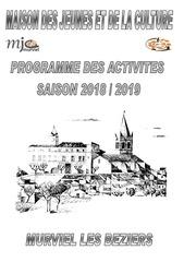 mjc murviel 2018 2019