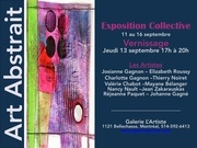 art abstrait  invitation