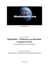 dissidosphere spiritualite 7 reponseaunmusulman