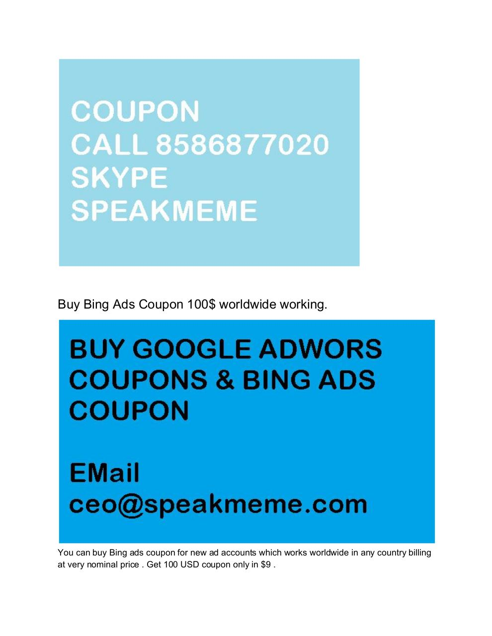 Buy Adwords Coupon - Adwords Coupon 2018 - 100% working Voucher - Call 8586877020.pdf - page 2/3