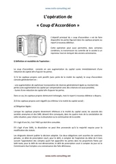 loperation de coup daccordeon