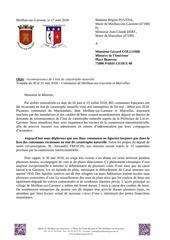 Fichier PDF courrier pour mle ministre de linterieur