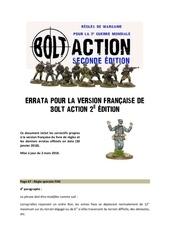 errata pour la vf de bolt action 2 v11