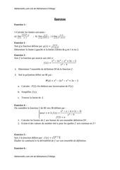 Fichier PDF exercices etudes fonction 5