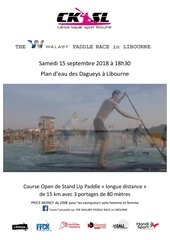 the walaby paddle race in libourne   reglement