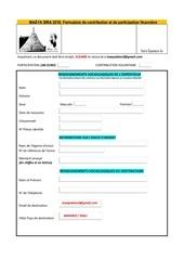 Fichier PDF formulaire de contribution maya sira2018