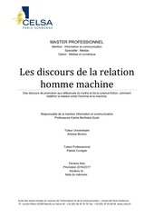 la relation homme machine   alex ferreira