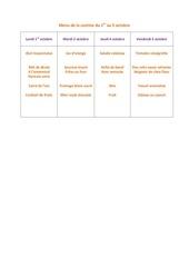 Fichier PDF menu de la cantine du 1er au 5 octobre