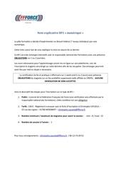 note explicative bf1 numerique