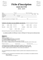 Fichier PDF fiche inscription aquagym 2018   2019