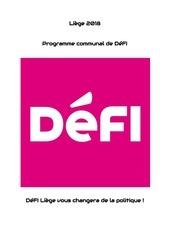 programme liege2018 defi