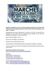 marche mondiale pour le climat   communique