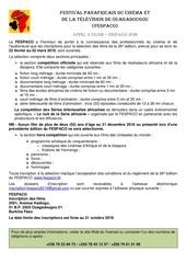 Fichier PDF appel a films fespaco 2019 ok doc francais bon