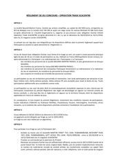 reglement entier sca centre 3010 1011 2018