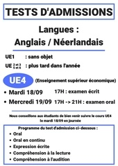 tests dadmissions langue