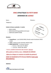 Fichier PDF ring athletique du petit bard demande de licence