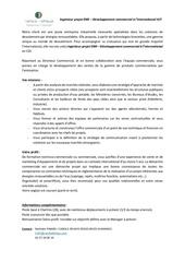 Fichier PDF annonce ingenieur projet enr